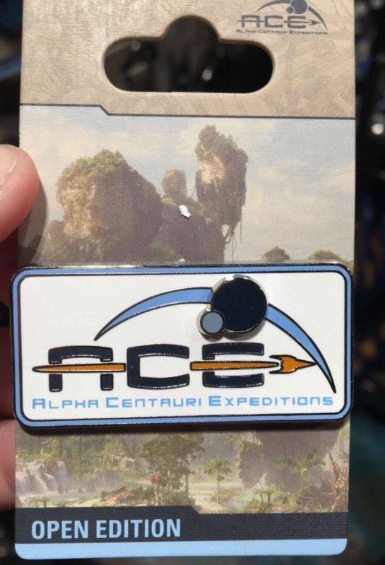 Alpha Centauri Expeditions Pin