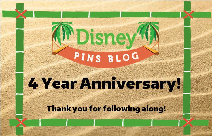 Disney Pins Blog 4th Anniversary