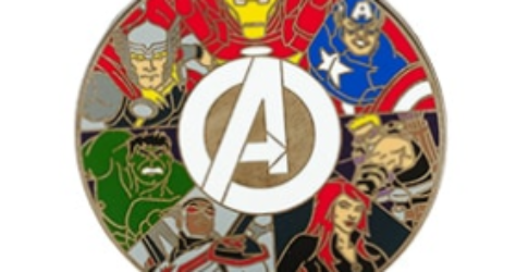 Disney Store Avengers Pin