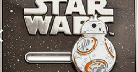 Disney Store BB-8 Pin
