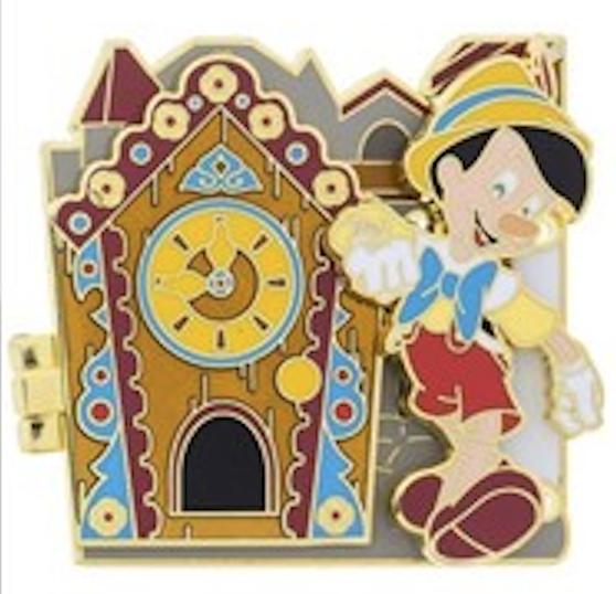 Doorways to Disney Pinocchio Pin