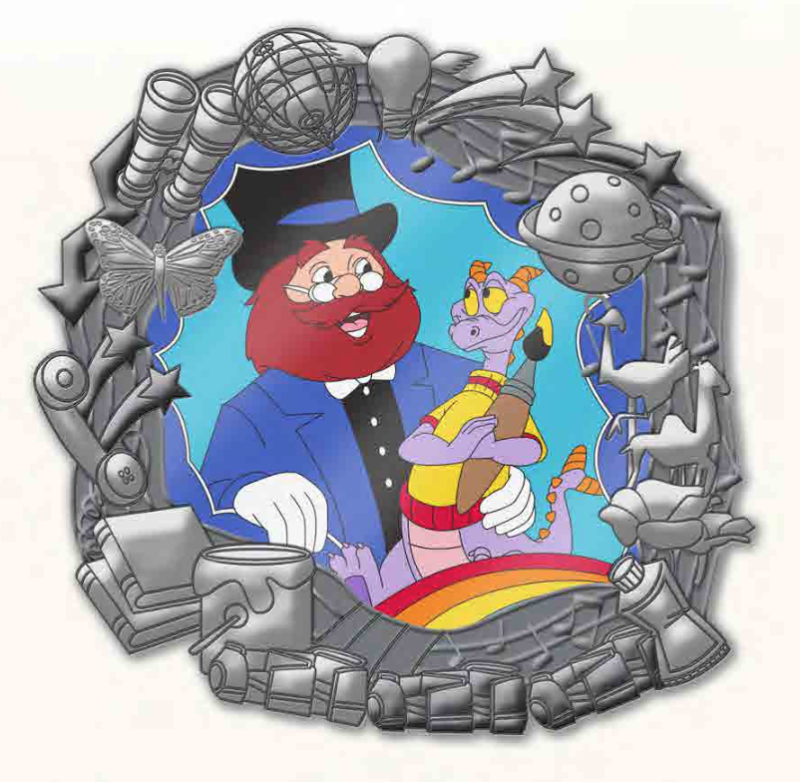 Figment and Dreamfinder Mini Jumbo Pin