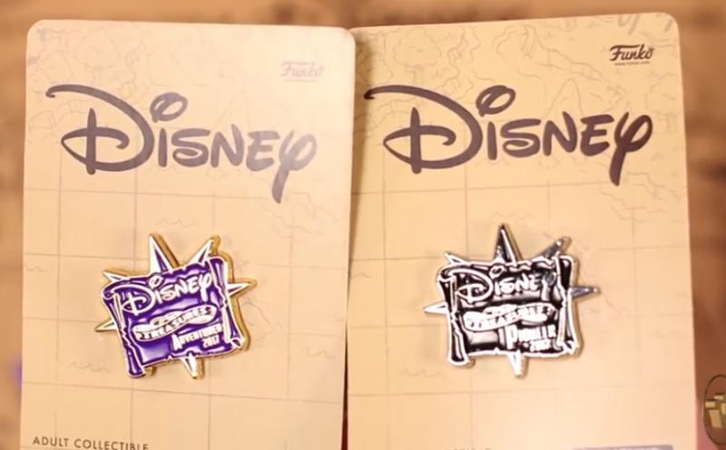 Funko Disney Treasures Welcome Pins