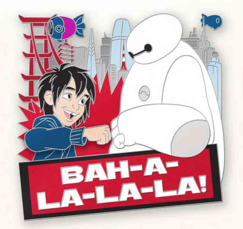 Love is Teamwork Baymax Pin