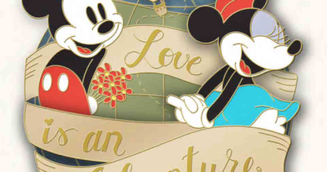 Love is an Adventure Logo Pin