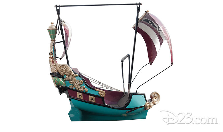Peter Pan Ride Vehicle