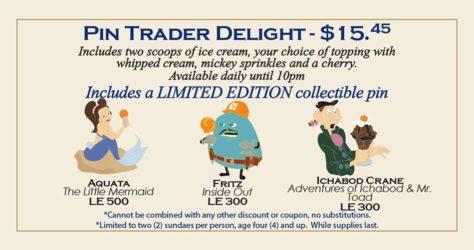 Pin Trader Delight – April 23, 2017