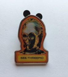 See-Threepio Pin