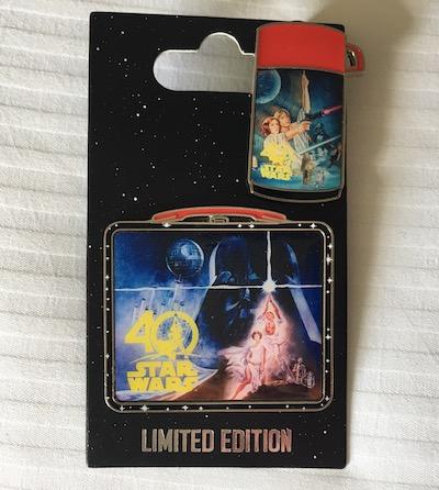 Star Wars 40 years Two Pin Set