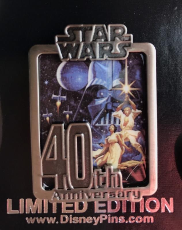 Star Wars 40th Anniversary Cast Member Pin