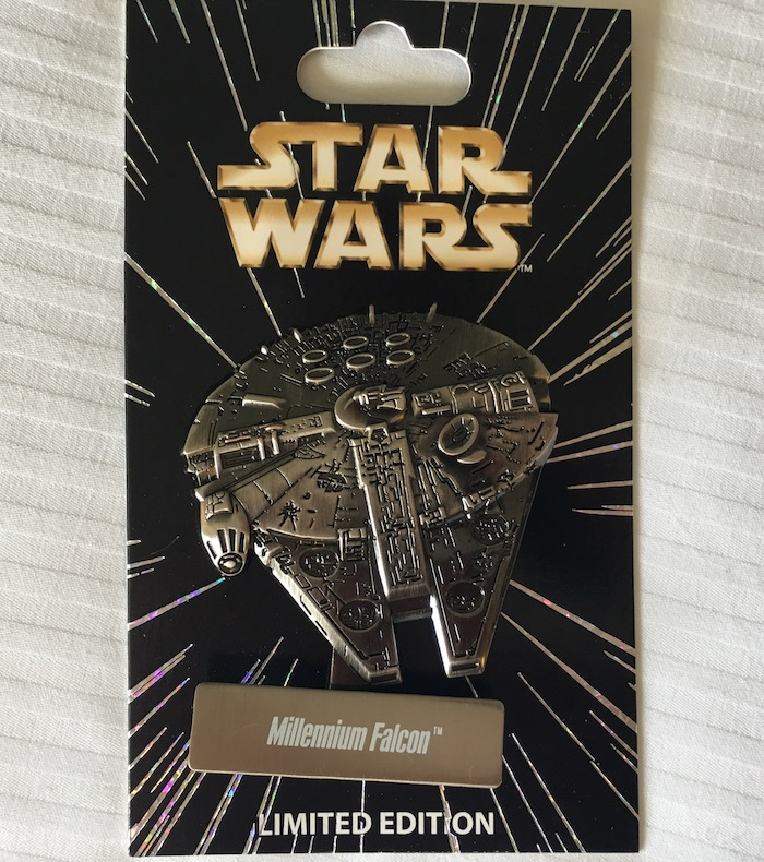 Star Wars Celebration Millennium Falcon Disney Pin