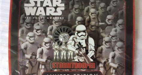 Star Wars Celebration Stormtrooper PODH Disney Pin