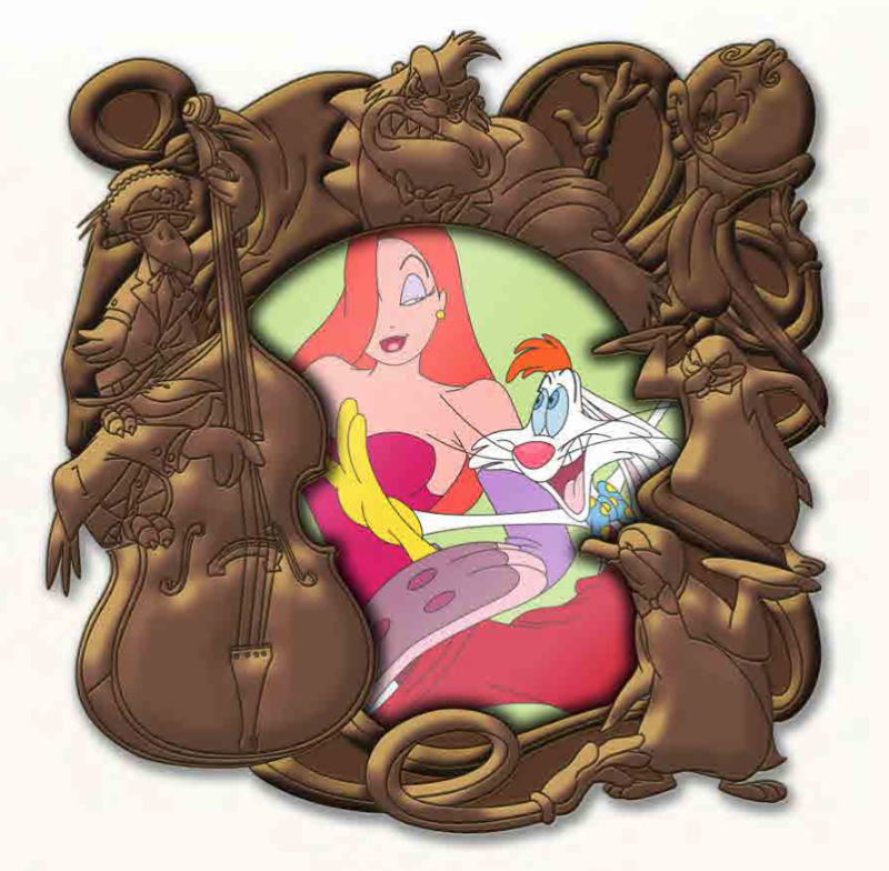 Who Framed Roger Rabbit Mini Jumbo Pin