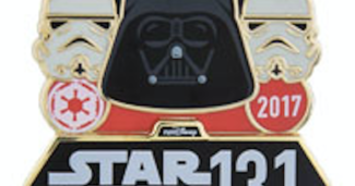 runDisney Star Wars The Dark Side Half Marathon Pin 2017