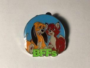 BFFs Fox & Hound Disney Pin