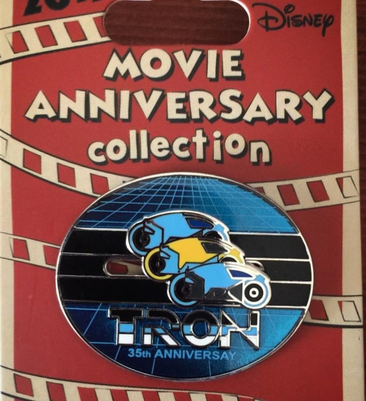 Cast Member Movie Anniversary Tron Pin
