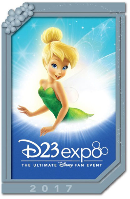 D23 Expo 2017 Tinker Bell Poster Pin