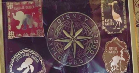 Disney Explorers Lodge Grand Opening Pin Set