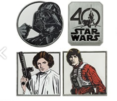 Disney Store- A New Hope Pin Set