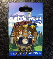 Flying Fish Piece of History Pin