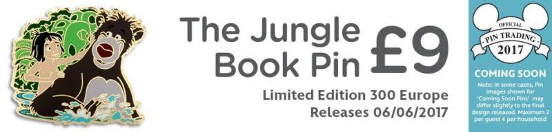 Jungle Book Pin – Disney Store UK