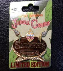 Jungle Cruise Name Tag Pin