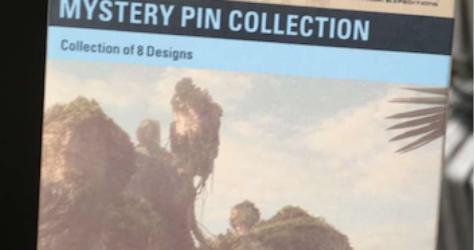 Pandora Mystery Disney Pins