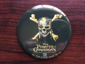 Pirates of the Caribbean Button