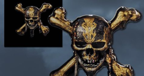 Pirates of the Caribbean Disney Movie Rewards Pin