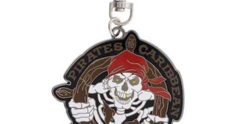 Pirates of the Caribbean Lanyard Medal