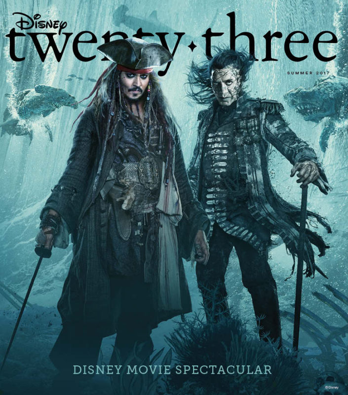 D23 Pirates of the Caribbean Cover