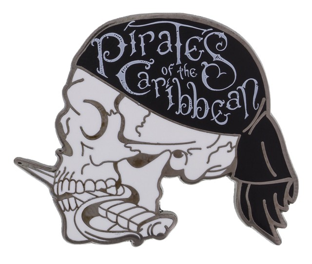 Pirates of the Caribbean Skull Pin
