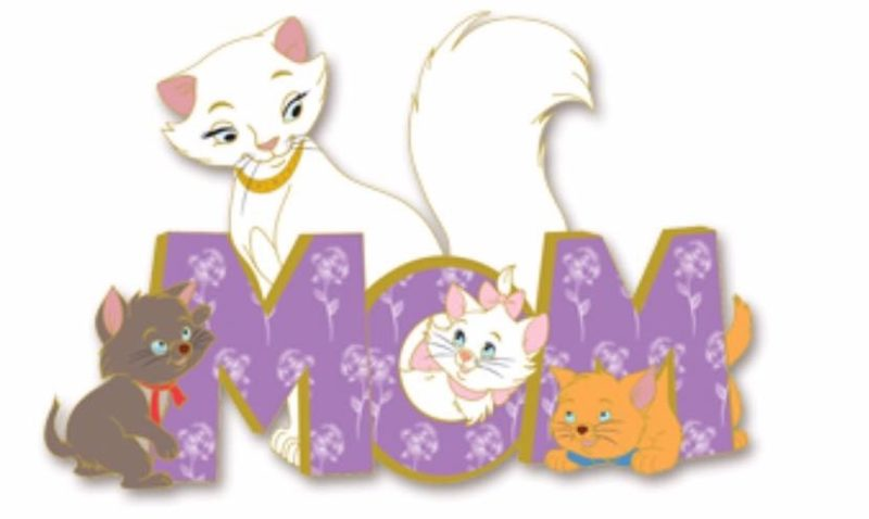 The Aristocats 2017 Mother's Day Pin