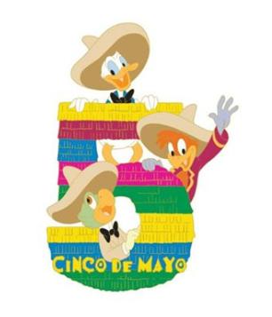 Three Caballeros Cinco De Mayo Pin - DSSH