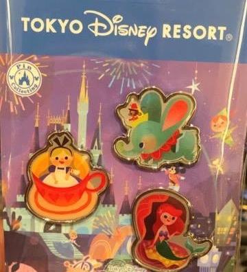 Tokyo Disney Resort - Celebration Hotel Pin Set