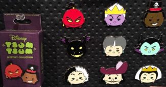 Tsum Tsum Villains Pin Set