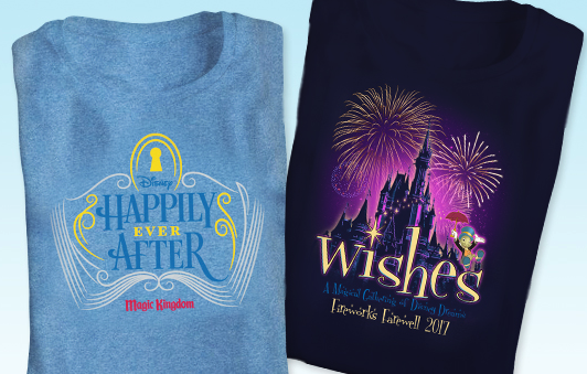 Wishes Farewell Disney Shirts