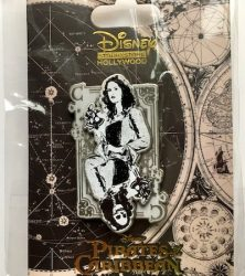 Carlina Smyth Card Pirates Pin