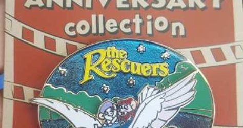 Cast Member Movie Anniversary Rescuers Pin