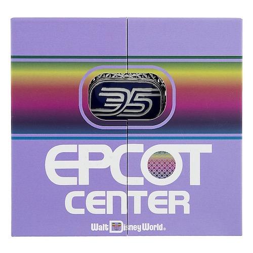Epcot 35th Anniversary Jumbo Pin Box