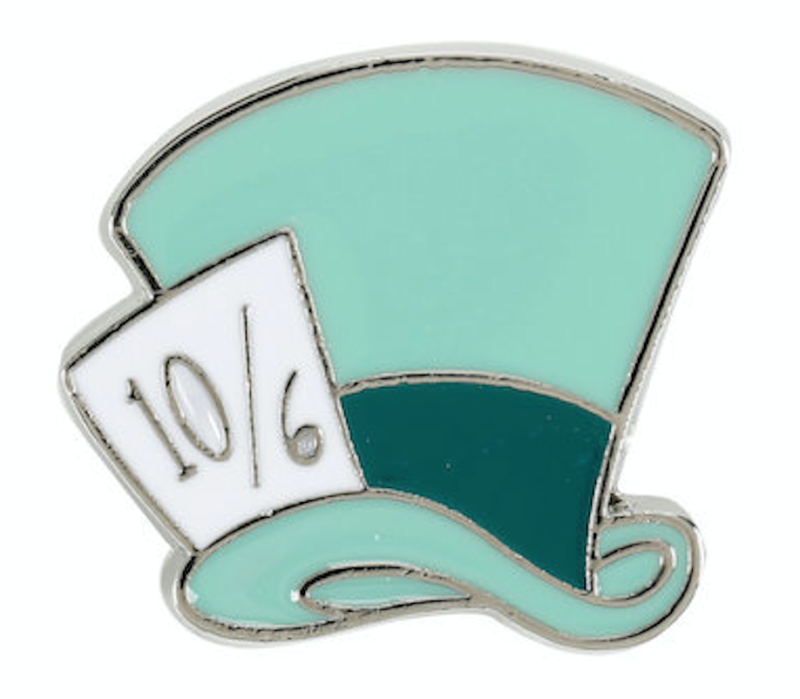 Mad Hatter Disney Pin - Hot Topic