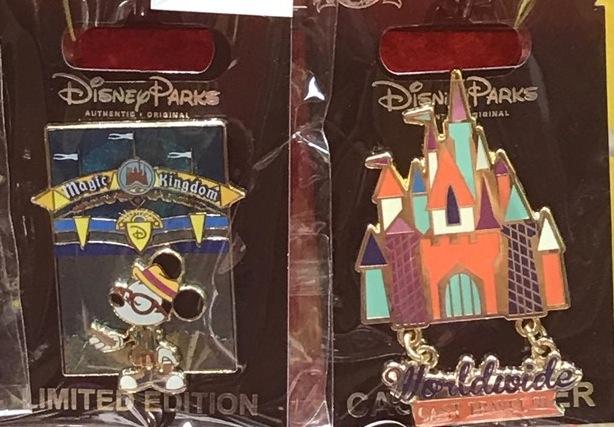 Magic Kingdom Cast Member Pins