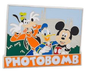 Photobomb Disney Pin