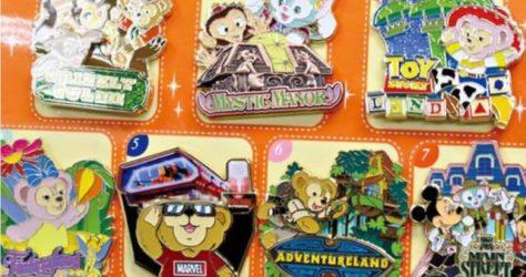 Pin Hunting 2017 - Hong Kong Disneyland