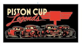 Piston Cup Legends Pin
