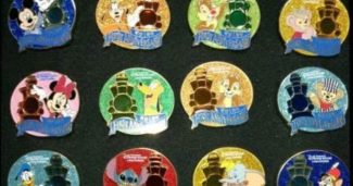 Shanghai Disney Resort 1st Anniversary Pins