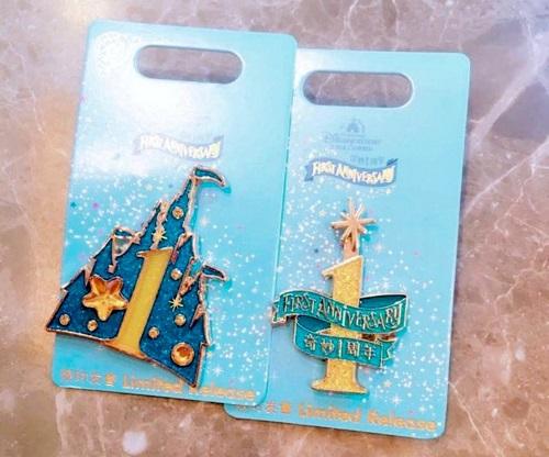Shanghai First Anniversary Disney Pins
