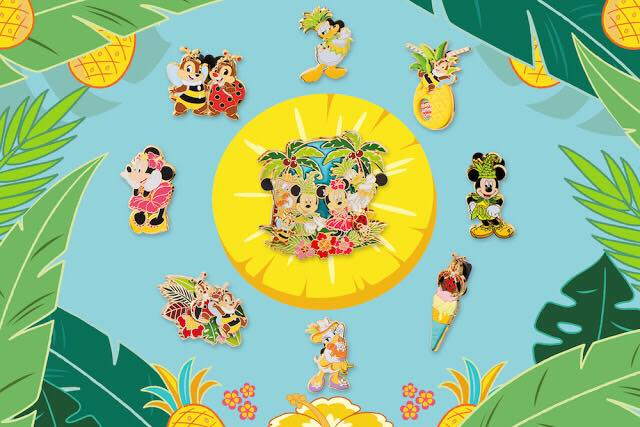 Shanghai Disney Resort Summer 2017 Pin Set Disney Pins Blog