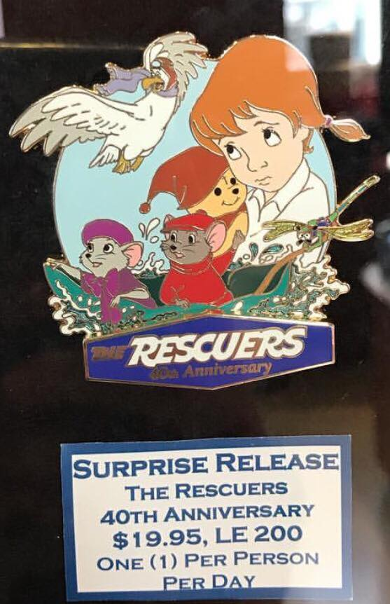 Surprise Rescuers 40th Anniversary Pin