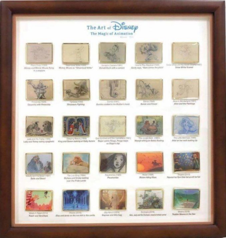 The Art of Disney – The Magic of Animation Frame Set